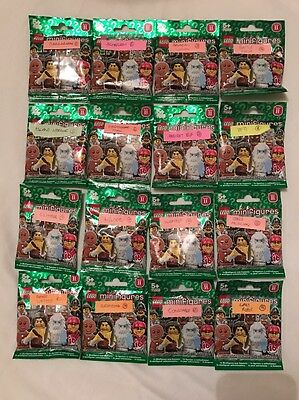 Lego Minifigures Series 11  71002 complete set Of All 16 (factory sealed)