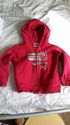 Roxy baby zip up hoody 24mths