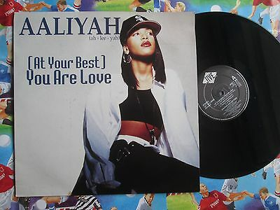 Aaliyah – (At Your Best) You Are Love Jive T 359 UK Vinyl 12inch Maxi-Single