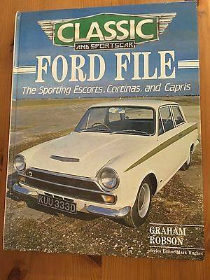 Classic & Sports car - Ford File-The Sporting Escorts, Cortinas, and Capris.