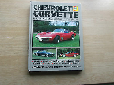 Chevrolet Corvette Purchase & Restoration Guide ; Porter / Haynes Manual ; 1996