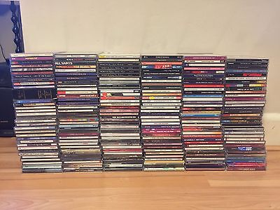 BIG CD JOBLOT OVER 200 CDs GOOD CONDITION