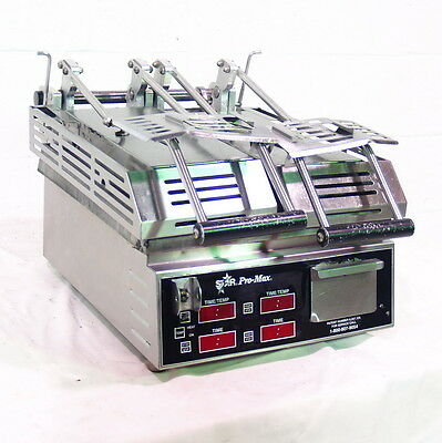 Used Star Dual Panini Grill / Sandwich Press - Cg14Spte