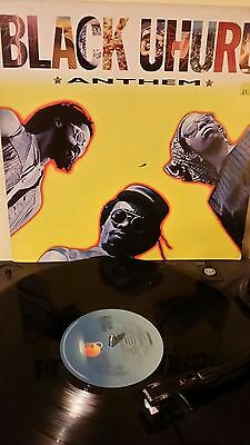 Black Uhuru ‎ Anthem Vinyl LP 1984 ILPS9773 Roots Reggae