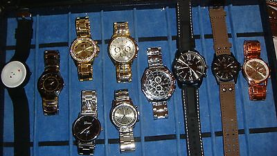 TRADE  JOB LOT OF 10 NEW  X  MIXED WATCHES 100% new and working///..