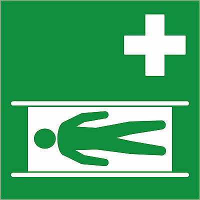 Pictogramme ISO 7010 SECOURS-civiere