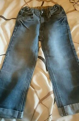 lovely pair of boys jeans age 5-6 years