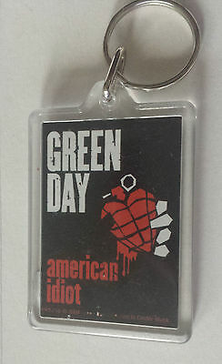 Official Green Day American Idiot Key Ring Key Fob