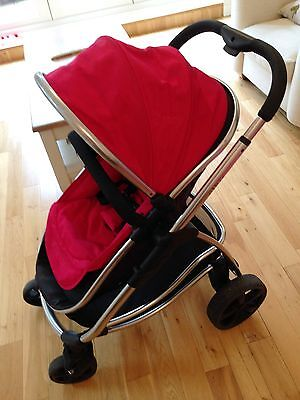 iCandy Strawberry Pushchair Full Set - Carry Cot and Stroller with Accessories