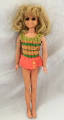 Vintage LIVING FLUFF Skipper Friend Doll With Original Outfit