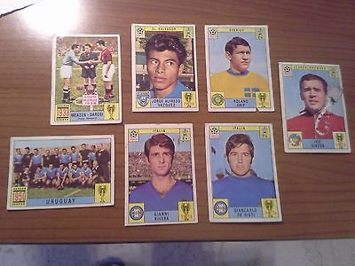 lotto figurine calciatori Panini - Mexico 70 - WM