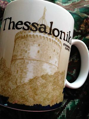 STARBUCKS CITY Coffee MUG THESSALONIKI 16 OZ MUG,GREECE 2011