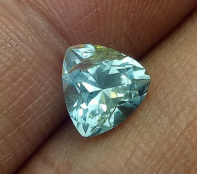 Nice 2.09 cts Natural Nigeria Blue Aquamarine , Untreated #004
