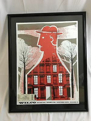 Wilco 2011 Tour Milwaukee Concert Poster Nick Lowe Riverside Theater Ticket Stub