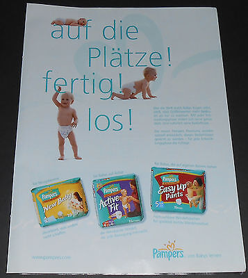2002 vintage ad - PAMPERS DIAPERS WINDELN - GERMANY - 1-PAGE PRINT ADVERT