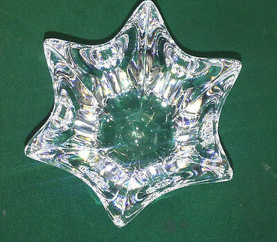 Orrefors Crystal Small Tulip Shaped Belle Bowl