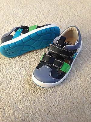 Boys Clarks Toddler Sandal Shoes Size 8G New