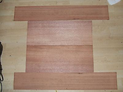 African Mahogany Back & sides set for guitar or two mandolins  Luthier tone wood