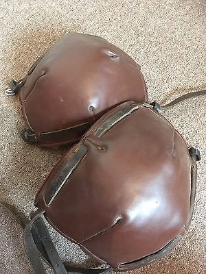 Polo /  Polocrosse Leather Knee-pads