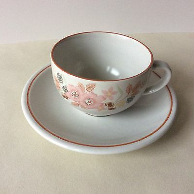 boots hedge rose Set Of 4 Cups And Saucers.