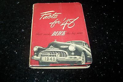 1948 Buick Facts Book