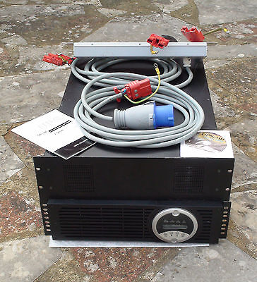 11KVA UPS with additional battery case, leads, software, etc