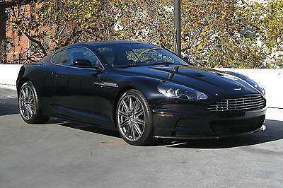 2009 Aston Martin DBS Coupe in Obsidian Black with only 7,501 miles 2009 ASTON MARTIN DBS COUPE IN OBSIDIAN BLACK WITH BLACK INTERIOR LOW MILES