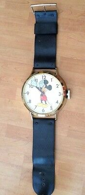 Vintage Welby Mickey Mouse Wrist Watch Wall Clock
