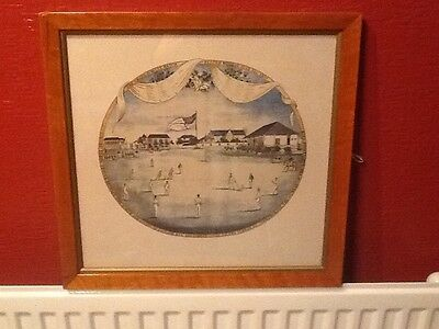 The Grand Jubilee Match Played Monday July 10th 1837 Framed Cricket Print