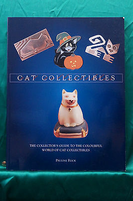 Cat Collectibles by Pauline Flick - Photo Book - Free Shipping