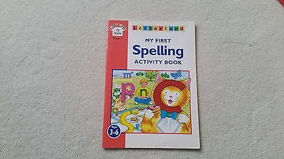 Nearly new Letterland My First Spelling Activity Book for preschoolers