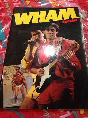 Wham Special, 1984/85, soft back, George Michael