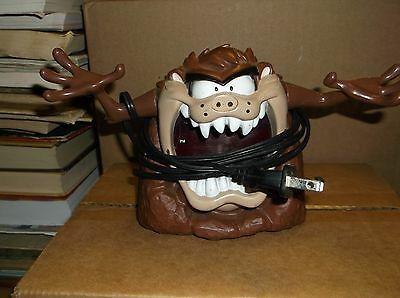 Tazmanian Devil Digital Alarm Clock Model 32401 Looney Tunes Warner Bros. Taz