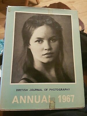British Journal Of Photography Annual 1967 Vintage