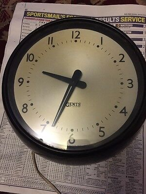 Price Reduced - Gents Of Leicester Wall Clock