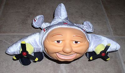 Jay Jay the Jet Plane Big Jake Plush Finger Hand Puppet Kidpower