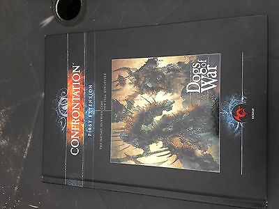 Rackham Confrontation First Extension Dogs Of War Hardback Rule Book