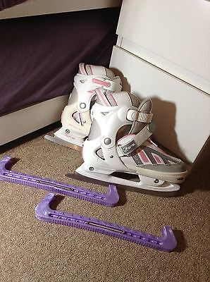 SFR ICE Skates in vgc  with carry bag and blade covers