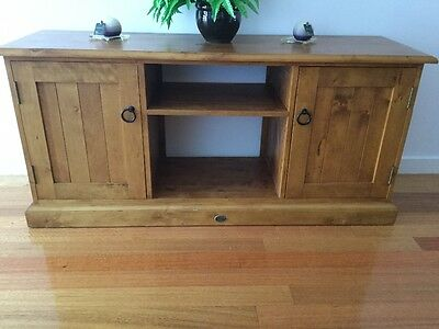 Entertainment cabinet, coffee table