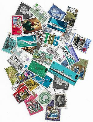 (ST047) GB QEII - Collection of Used Stamps