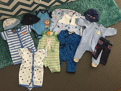 baby boy clothes size 000 Or 0-3 Months Pumpkin Patch And More