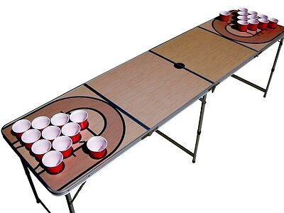 Basketball court beer pong table beirut WITH pre-drilled cup HOLES