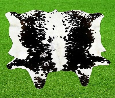 New Cow hide Rugs Cow Skin Area 13.75 Sq-feet 9558
