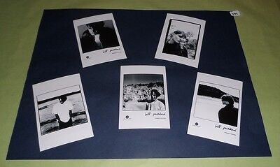 "Bill Pritchard Set of 6""x4""Inch Photos x5Collectable Pop Memorabilia Prints J399"