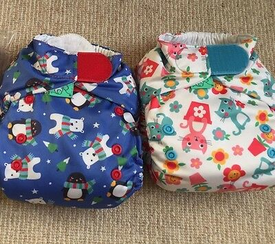 Frugi Tots Bots Reusable Birth To Potty Cloth Nappies Used