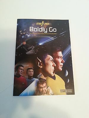 "Star Trek 50Th Anniversary Canada Post Stamp Catalogue ""boldly Go"" 2016"