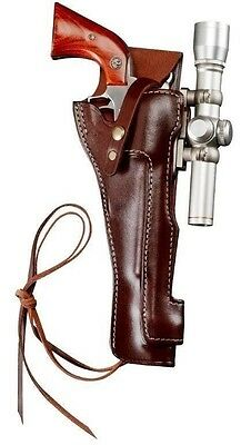"""Holster for Freedom Arms and Magnum Research BFR Short Cylinder 7.5/"""" Brrl #7411"""