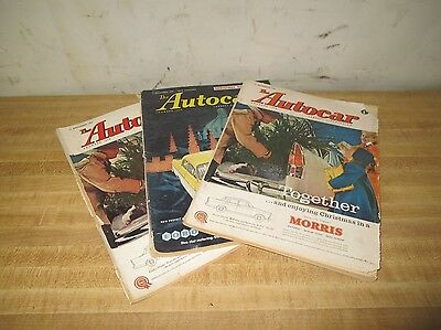 The Autocar December 1959 Morris Ford English Automobile 3 Weekly Editions