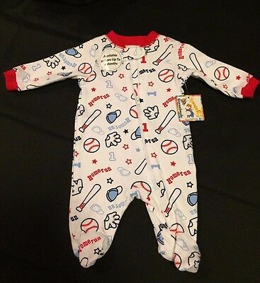 Garanimals Baby Outfit Sleeper Sports Themed Size: 3-6 Months New with Tags