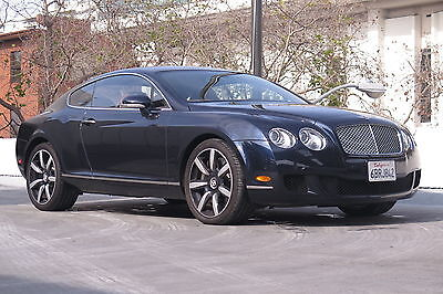 2008 Bentley Continental GT Coupe in Dark Sapphire with 41,841 miles 2008 BENTLEY CONTINENTAL GT COUPE IN DARK SAPPHIRE WITH SADDLE